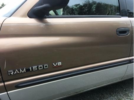 2001 Dodge 1500 Ext Cab w/snow plow